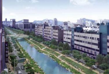 Recuperação do rio Cheonggyecheon
